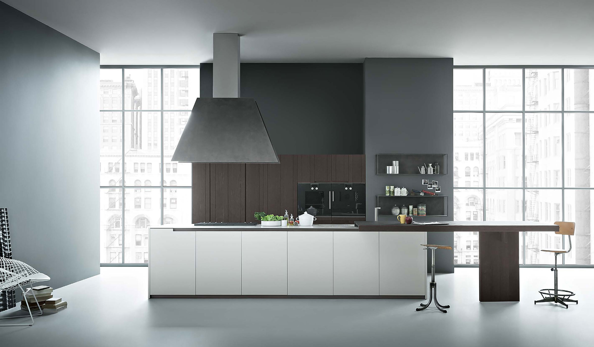 cucina moderna con isola