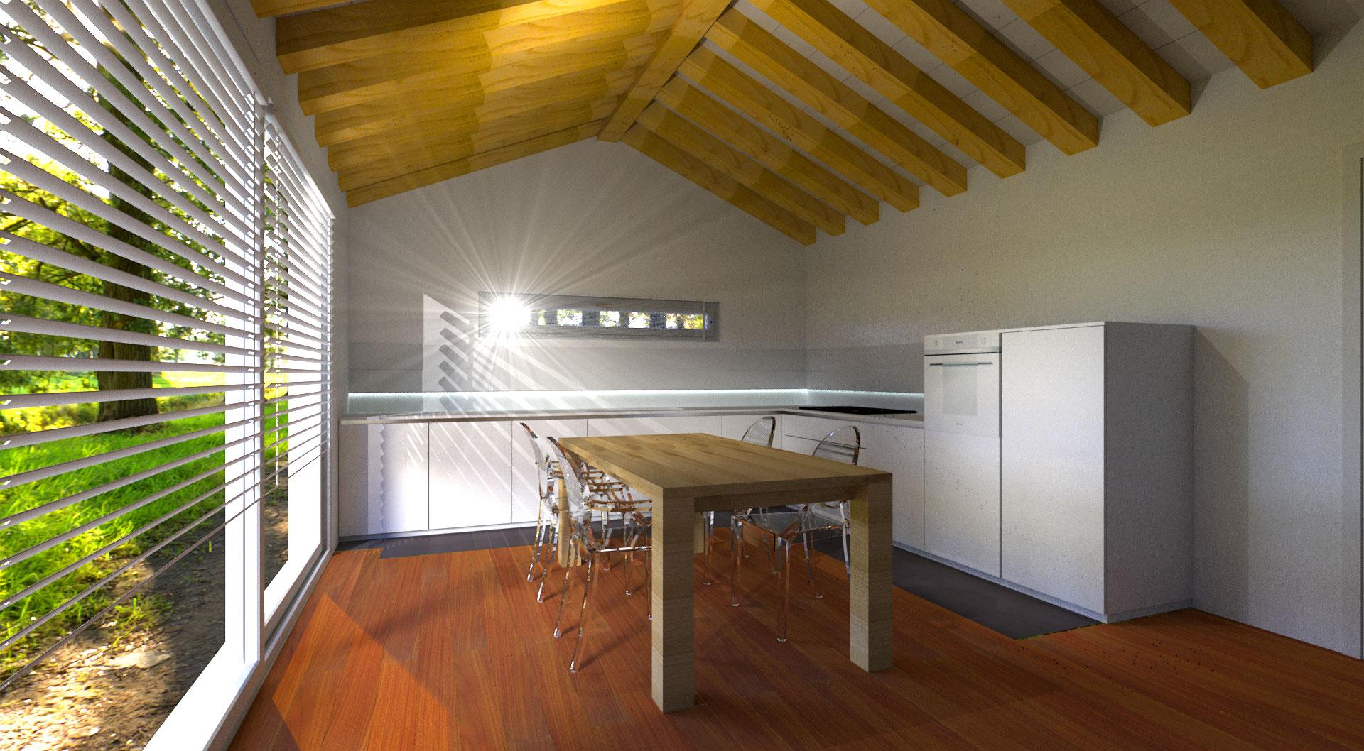 Studio progettazione interni design interni venezia mestre - Blocco cucina 160 cm ...