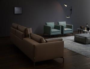 Salotto Moderno Verde : Salotto moderno marrone e verde u