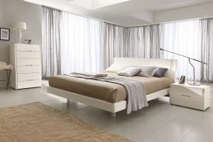 camera da letto moderna bianca Napol