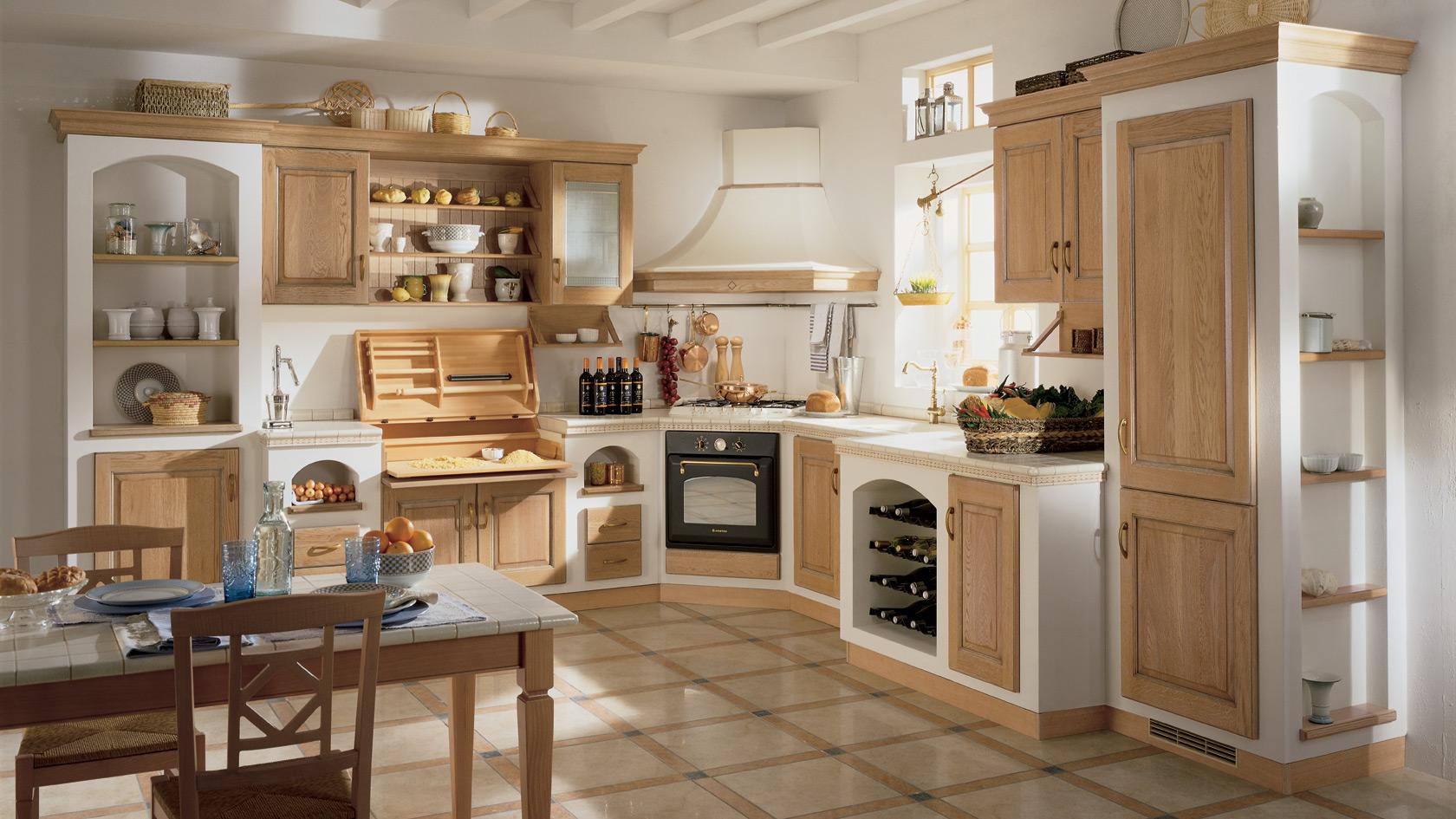 Come Arredare Una Cucina Classica |
