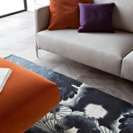 divano moderno grigio medio