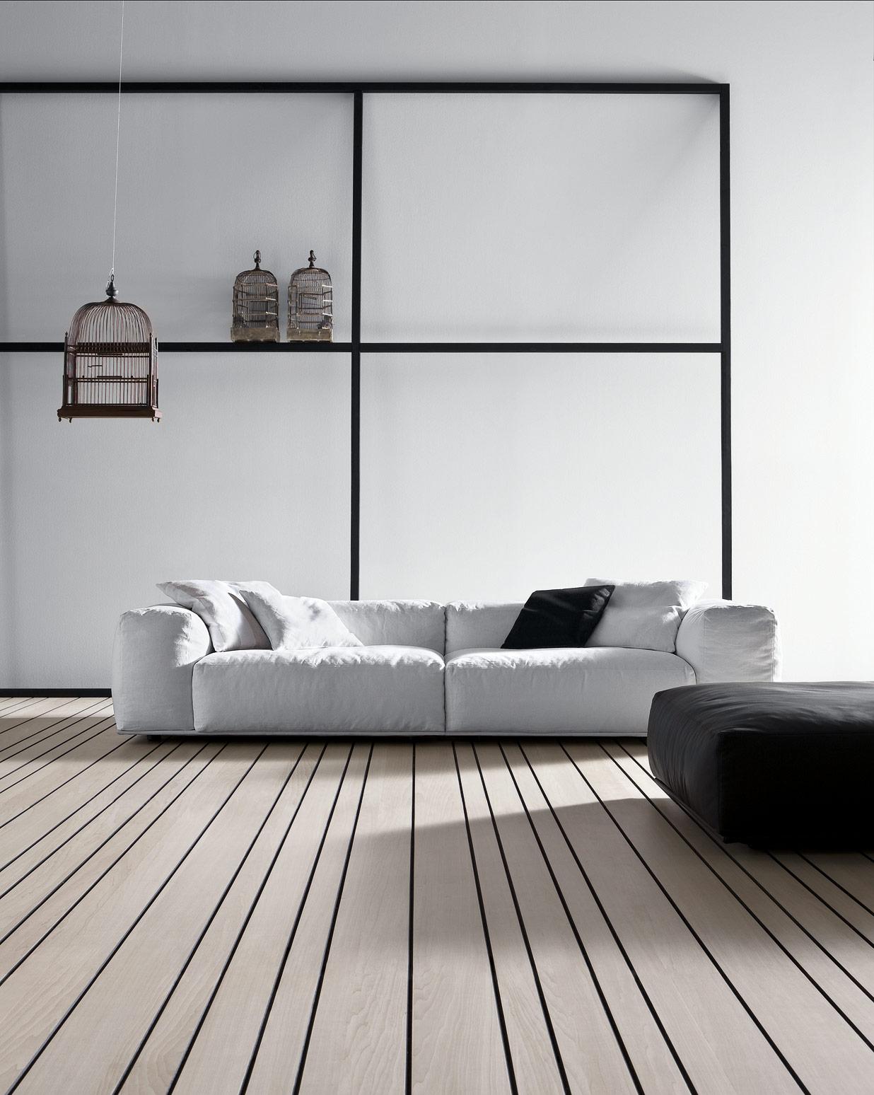 Salotto Bianco In Pelle.Salotto Moderno In Pelle Bianco