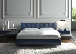 camera da letto moderna elagante bluc amadeus