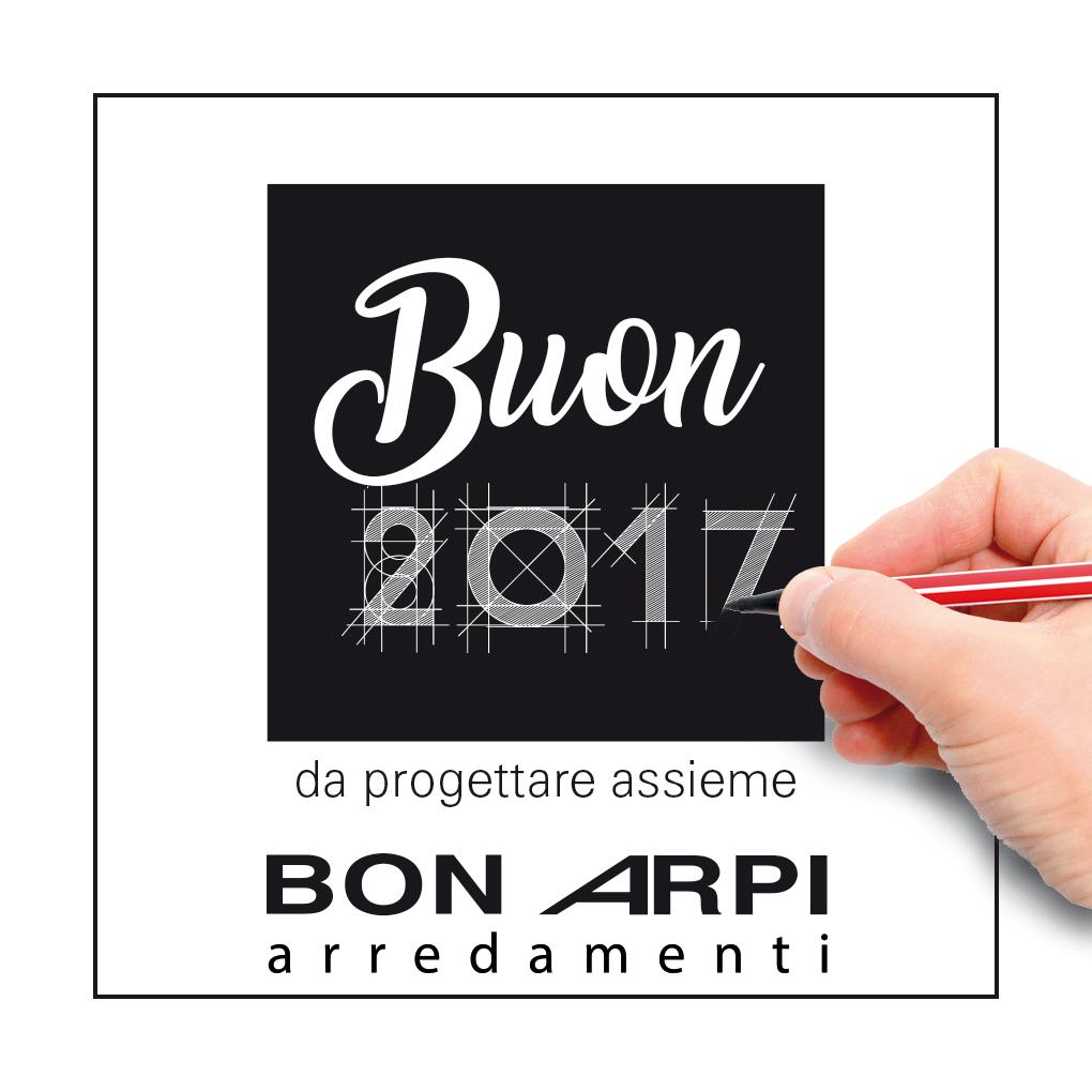 auguri buon 2017 arredamenti Bonarpi